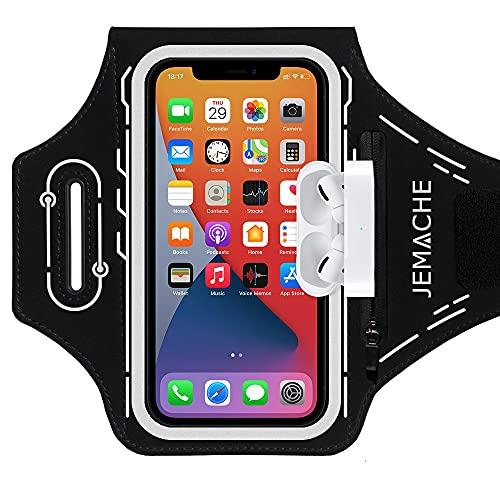 JEMACHE Running Brazalete para iPhone 12 11 XR X XS 12Pro, Samsung...