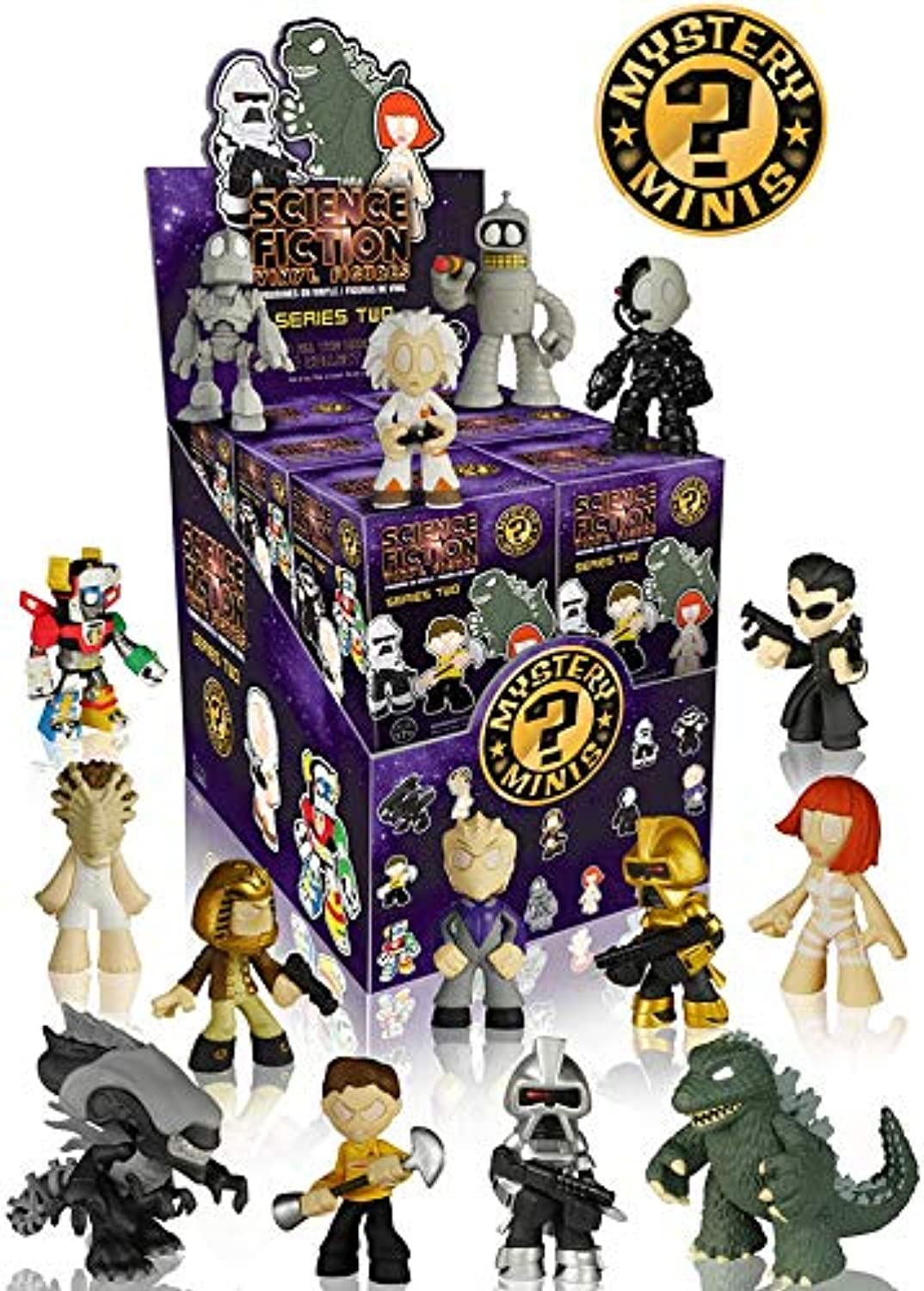 Sci-Fi Mystery Minis Series 2 Vinyl Figure Display Case by Sci-Fi Mystery Minis