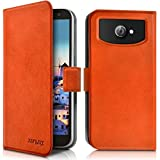 Seluxion Universal Case Cover for the Archos 50 Neon orange