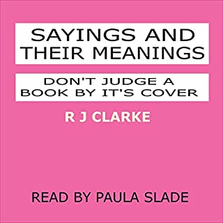 Sayings and Their Meanings cover art