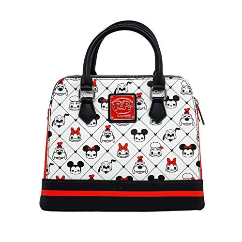 Loungefly Disney Sensational 6 AOP Vegan Leather Crossbody Bag for Women
