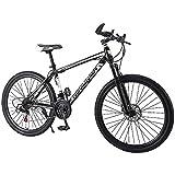 YXY Vélo de Montagne pour Hommes, vélo de 26 Pouces vélo, vélo de Route extérieure 21 Vitesses,...