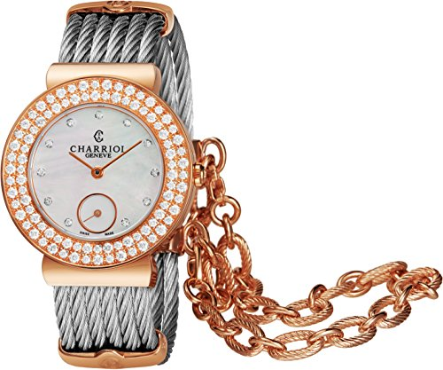 Charriol st-tropez Ladies Diamond Watch ST30PBD.560.023