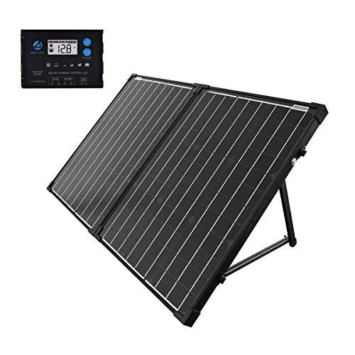 ACOPOWER 100w 12v Portable Solar Panel kit