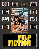 Desconocido Pulp Fiction Film Cell Style - Pantalla para móvil (10 x 8 cm, 10 Celdas), Enmarcado, 25,40 x 20,32 cm