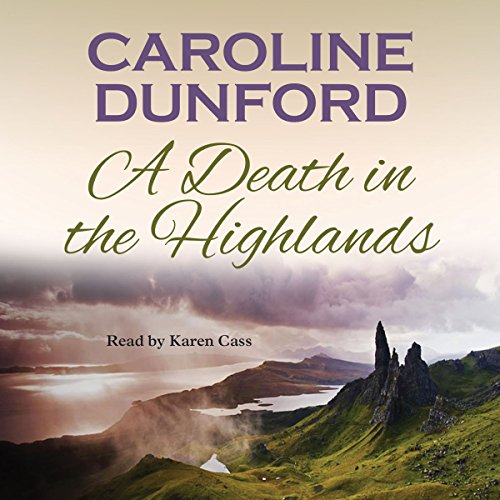 A Death in the Highlands audiobook cover art