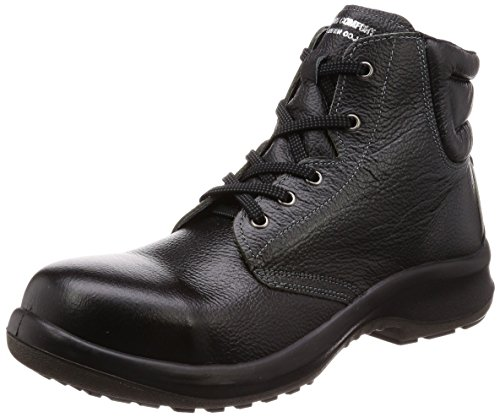 [ミドリ安全] 安全靴 JIS規格 中編上靴 プレミアムコンフォート PRM220 ブラック 24.5 cm 3E