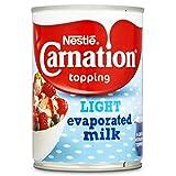 Carnation La Luz Se Evaporó La Leche 410g (Paquete de 6)