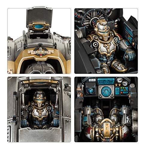 Warhammer 40k - Space Marines du Chaos Knight Prececeptor Canis Rex