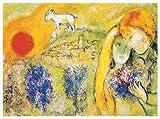 Marc Chagall - Lovers - Poster Kunstdruck Art Print -