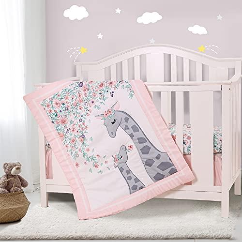 Honkaii Giraffe 3-Piece Crib Bed...