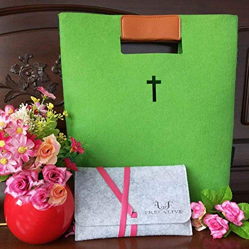 FREEALIVE Bible Carrying case Bible Tote Bags Bible Covers for Women Christian Gifts Bible Bags Tote Cases