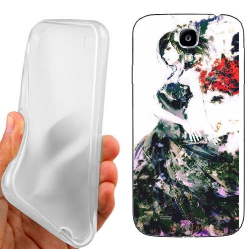 CUSTODIA COVER CASE DONNA MANGA PER SAMSUNG GALAXY S4 i9500
