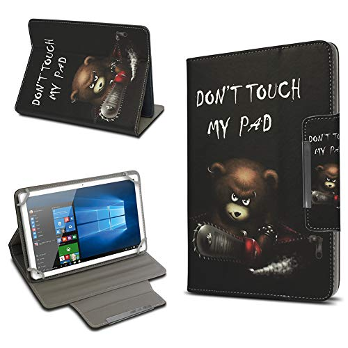 UC-Express Universal Tablet Schutz Hülle 10-10.1 Zoll Tasche Schutzhülle Tab Case Cover Bag, Motiv:Motiv 4, Tablet Modell für:Odys Rise 10