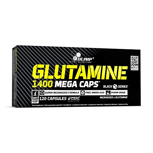 Olimp Kapseln L-Glutamine Mega Caps, 120 Kapseln