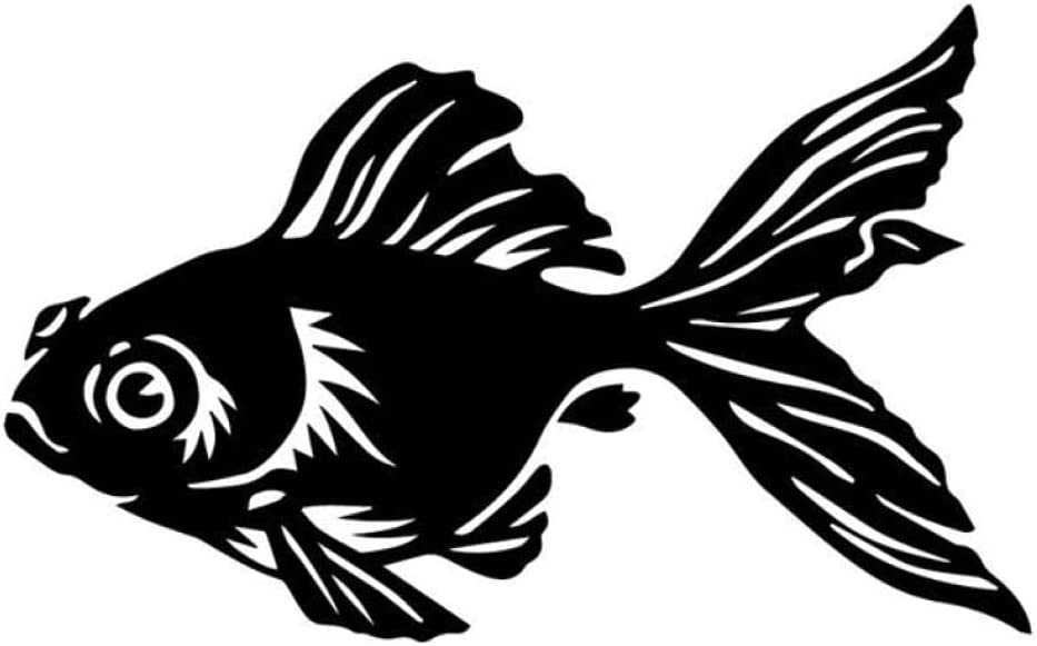 3 Pcs Max 73% OFF Car Stickers Max 51% OFF and Self Decals Beautiful 10CM16.2CM Goldfish