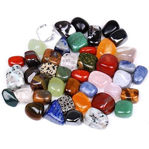 Dacyflower Mineral Rock Variety Edelsteine poliert Artware Unregelmäßige Form Gemischter Bunter Mineral Bergkristall 100g