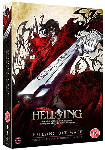 Hellsing Ultimate - Volume 1-10 Complete Collection [9DVD] (Keine deutsche Version)