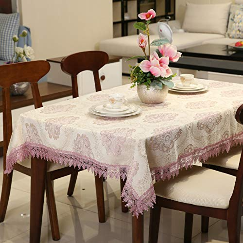 YOUYUANF tablecloth wipe clean round Home decoration Oxford cloth wipeable tablecloth rectangular waterproof tablecloth for external tables150 x 200cm