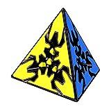 willking Gear Pyraminx 3x3x3 Magic Cube Pyramid Speed Cubo Puzzle Educational Toy