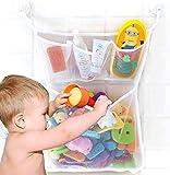 Bathtub Toy Organizer, Extra Durable Washable Quick Dry Mesh Bath...