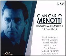 "Gian Carlo Menotti: ""The Consul"" (Original Cast) [Patricia Neway, Marie Powers, Gloria Lane, Cornell MacNeil; Orchestra; Lehman Engel] AND"