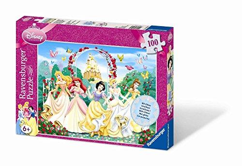Ravensburger - 13926 - Puzzle enfant - Princesses étincelantes - 100 Pièces