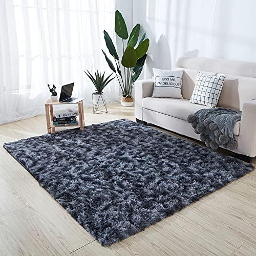 Alfombras De Habitacion Gris Pelo Corto alfombras de habitacion  Marca VOFUSHON