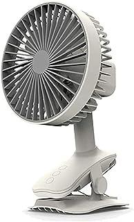 massager Mini Ventilador de Escritorio, Ventilador de refrigeración portátil de circulación de Aire USB, rotación de 360...