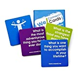 We! Connect Cards Icebreaker Questions Trust Building Games Teambuilding Activities Conversation Starters for Meetings and Workplace As Seen on TEDx (60 Cards)