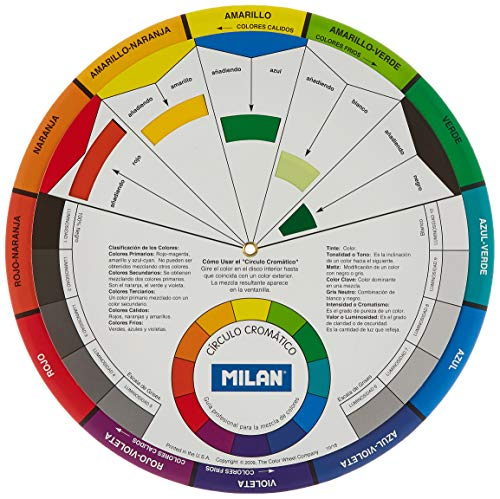 MILAN Círculo cromático, 24X24X0,2MM