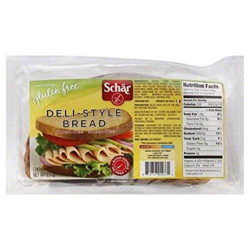 Schar Gluten Free Deli Style Bread - 8.5 Oz by Schar [Foods], 8.5 oz