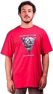 Camiseta Purple Haze De Algodão Mundo Vermelho