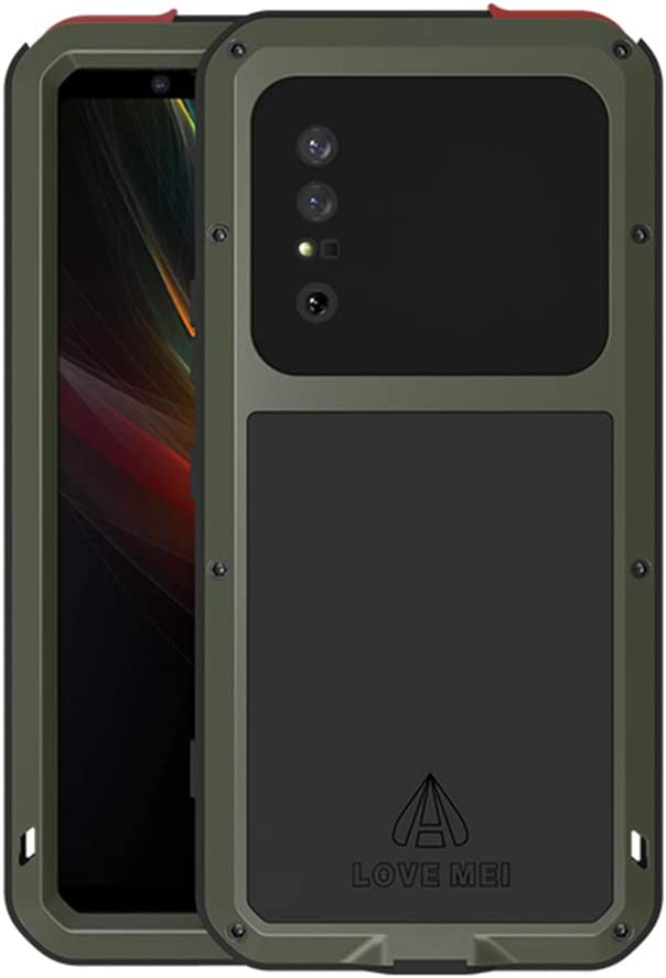 LOVE MEI for Sony Xperia 1 Selling and selling II Hybrid Metal Case Limited price Aluminum M 2020