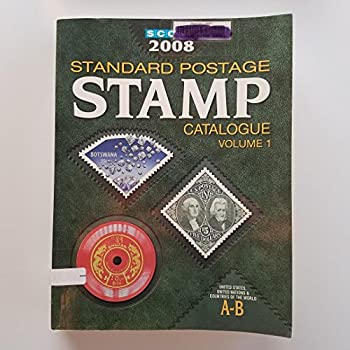 Scott 2008 Standard Postage Stamp Catalogue: United States and Affiliated Territories United Nations Countries of The World A-B (Scott Standard Postage Stamp Catalogue Vol 1 Us and Countries a-B) 0894873954 Book Cover