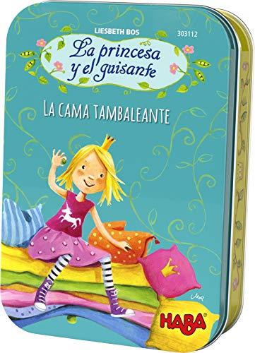 HABA-La Princesa y el Guisante La Cama tambaleante