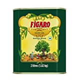 Figaro Olive Oil, 2L – All Cooking Healthy Olive Oil – Durable Tin Packaging