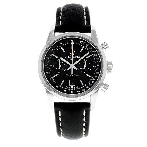 Breitling Transocean cronografo 38mens orologio A4131012/BC06
