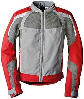 BMW Genuine Motorcycle Riding Men'S Airflow Jacket EU-54  USA-44 Grey Gray / Red