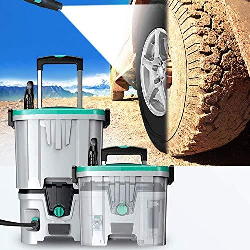 Auto-wasmachine, draadloos, hogedrukmachine voor auto, wasmachine, 40 V, lithium-batterij, autoaccu, pomp, waterpistool, multifunctionele energie, hogedruk; draagbaar B