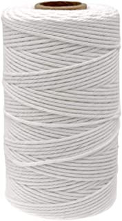 328 Feet White String,Cotton String Bakers Twines,Kitchen Cooking String for Arts Crafts and Gift Wrapping