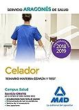 Celador del Servicio Aragonés de Salud (SALUD-Aragón). Temario Materia Común y test
