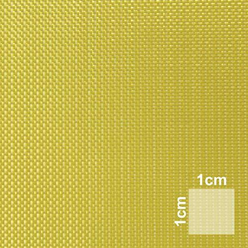 Aramidgewebe 1m² | Hochwertiges Aramidfaser-Gewebe | Sandwichbau, Modellbau, Flugzeugbau, Bootsbau | Hochfestes Material in Kombination mit Epoxidharzen | HP-P60A