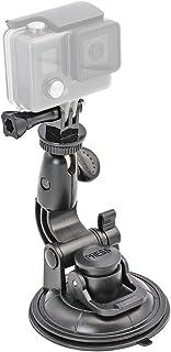 EXSHOW Ventosa para GoPro Cámara Soporte Coche para GoPro Hero 7 6 5 4 3 y Otras Deportes Acción Cámaras (con tornillo de 1/4 -20 Accesorios)