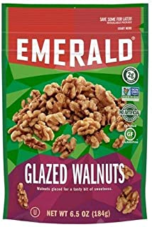 Emerald Glazed Walnuts 6.5 Ounce ( 2 Pack)