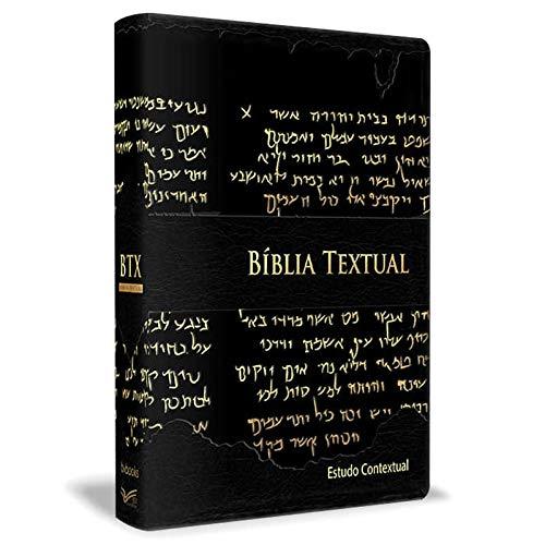 Bíblia Textual Estudo Contextual -preta