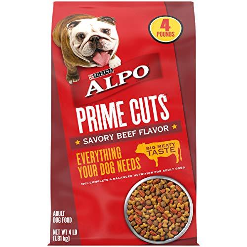 Purina ALPO Dry Dog Food, Prime Cuts Savory Beef...