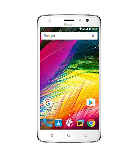 NGM-Mobile You Color Smart 5 Plus Dual SIM 4G 16GB White - smartphones (12.7 cm (5'), 32 GB, 16 MP, Android, 6.0 Marshmallow, White