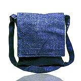 Core Hemp Crossbody Messenger Bag - Handmade Satchel Bags For Women & Men Made From 100% Organic Hemp - Everyday, Hemp Over-the-Shoulder Sling Bag - Unisex