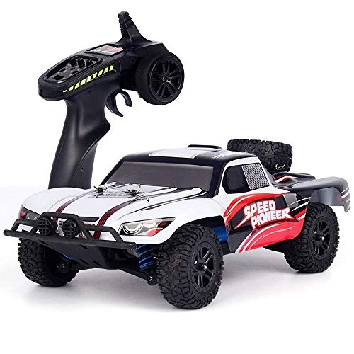 Check Out This Woote Child RC Vehicle Gift 1/18 RC Truck Double Motor Professional Adult Sports Raci...